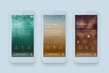 "Smart shower experience for body and soul - ""hansgrohe home"" app"